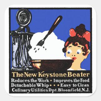 1900 Keystone Beater Square Sticker