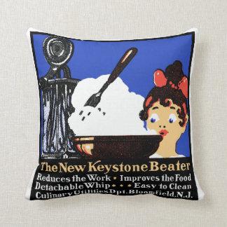 1900 Keystone Beater Throw Pillow