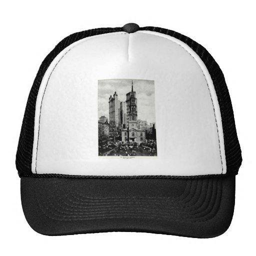 1900 la capilla de San Pablo, New York City Gorros