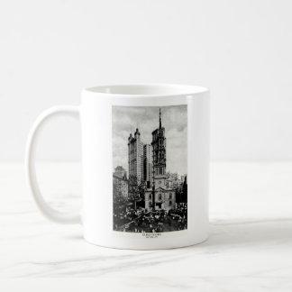 1900 la capilla de San Pablo, New York City Tazas De Café