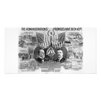 1900 Mckinley - Roosevelt Photo Greeting Card