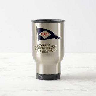 1900 Nile Egypt Luggage Label Coffee Mugs