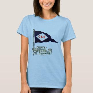 1900 Nile Egypt Luggage Label T-Shirt