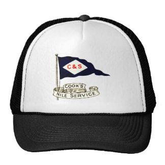 1900 Nile Egypt Luggage Label Trucker Hat