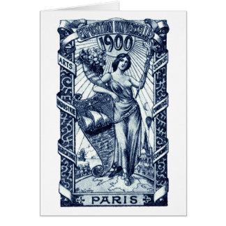 1900 Paris International Expo Poster Card