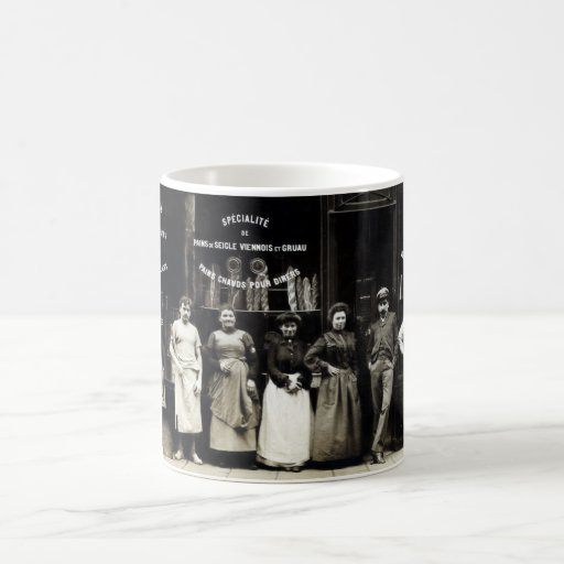 1900 Parisian Bakery Coffee Mug
