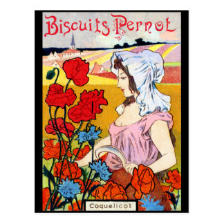 1900 Pernot Biscuits Postcard