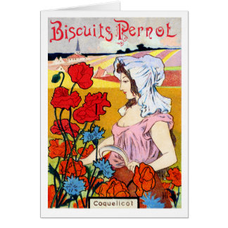 1900 Pernot Bisquits Card
