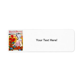 1900 Pernot Bisquits Custom Return Address Label