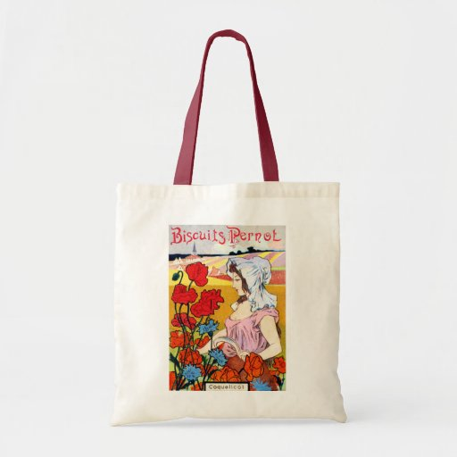 1900 Pernot Bisquits Tote Bags