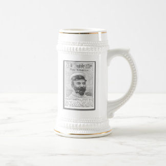 1900 Pipe Tobacco Ad Beer Stein