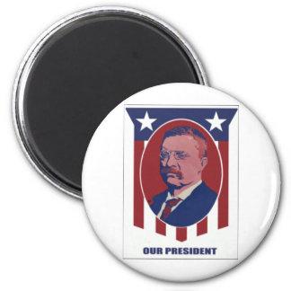 1900 Roosevelt 2 Inch Round Magnet