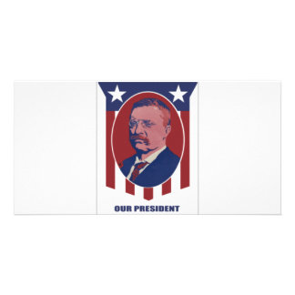 1900 Roosevelt Photo Greeting Card
