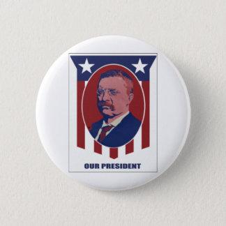 1900 Roosevelt Pinback Button