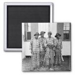 1900 Southern Chain Gang Magnet