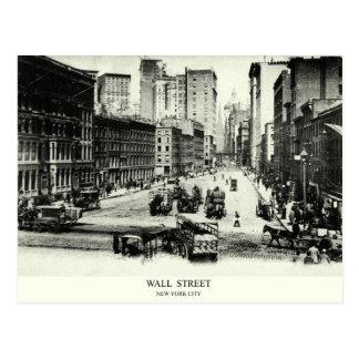 1900 Wall Street Postcard