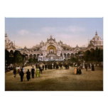 1900 World's Fair Paris Print