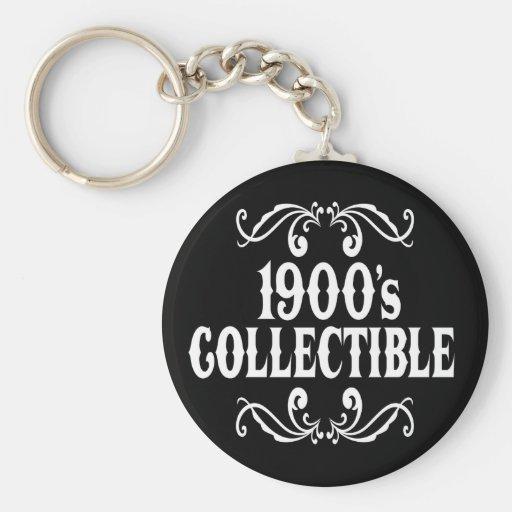 1900's coleccionable 100o Birhday Llaveros