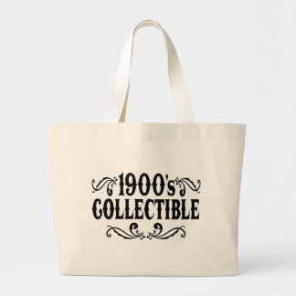1900's Collectible 100th Birhday Jumbo Tote Bag
