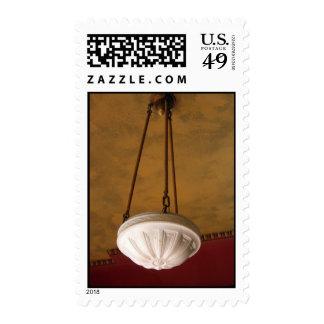 1900s Craftsman House light fixture B Postage Stamp