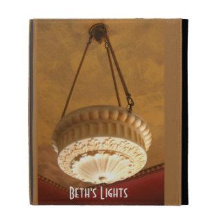 1900s Craftsman House light fixture iPad Cases