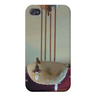 1900s Craftsman House light fixture floral iPhone 4/4S Cases