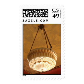 1900s Craftsman House light fixture Postage Stamp