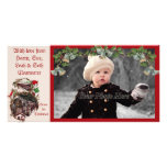 1900s Home for Christmas Train Photocard Picture Card