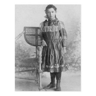 1900's Portrait of Girl Postcard