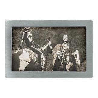 1900's Skeleton Horsemen Belt Buckle
