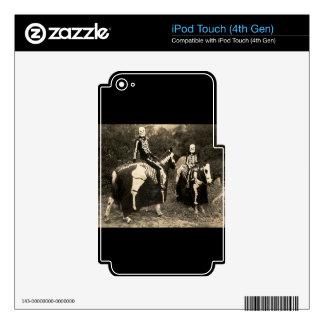 1900's Skeleton Horsemen iPod Touch 4G Skin