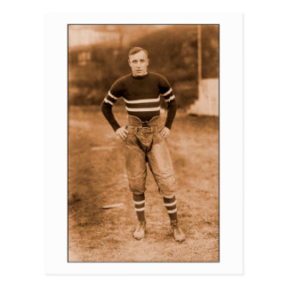1900s tempranos del futbolista postal