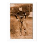 1900s tempranos del futbolista tarjetas postales