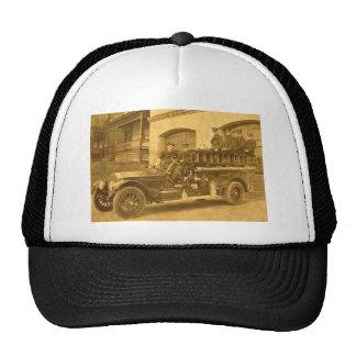 1900s tempranos del vintage del gancho y de la esc gorras
