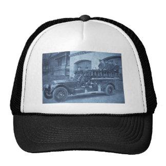 1900s tempranos del vintage del gancho y de la esc gorras de camionero