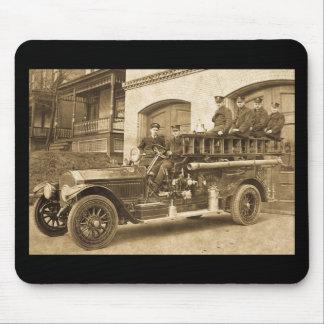 1900s tempranos del vintage del gancho y de la esc mousepad