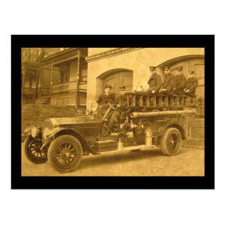1900s tempranos del vintage del gancho y de la postal