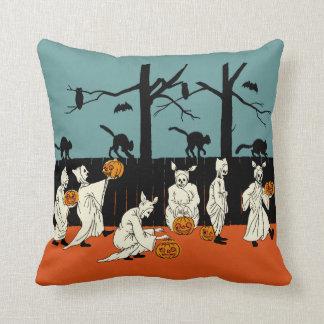 """1900s tempranos Halloween """"espectros del vintage Cojines"""