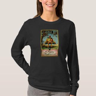 1900s Vintage Jack O'Lantern Halloween Postcard T-Shirt