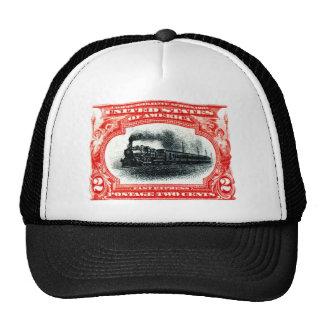 1901 Fast Express Railroad Stamp Hat