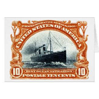 1901 Fast Ocean Navigation Greeting Cards