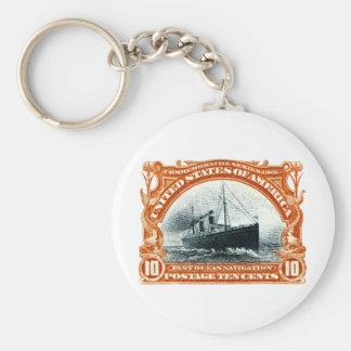1901 Fast Ocean Navigation Keychains