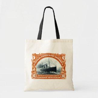 1901 Fast Ocean Navigation Tote Bags