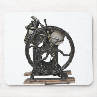 1901 letterpress mousepad