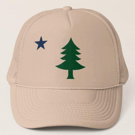 1901 Maine Flag Hat