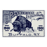 1901 Pan-American Expo Print