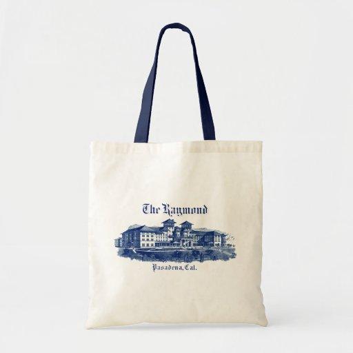 1901 Raymond Hotel Pasadena California Budget Tote Bag