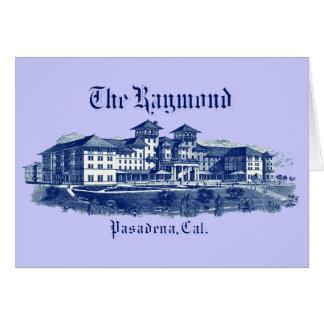 1901 Raymond Hotel Pasadena California Card
