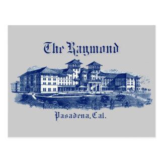 1901 Raymond Hotel Pasadena California Postcard
