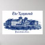 1901 Raymond Hotel Pasadena California Posters
